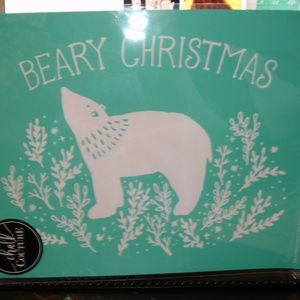 Chalk Couture RETIRED NIP Beary Christmas